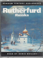 Edward Rutherfurd Russka 2 Cassette Audio Book Abridged Family Saga FASTPOST