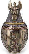 New listing Egyptian Anubis Jar Sculpture Memorial Urn Statue Figurine *Holiday Gift*