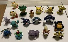 Original Pokemon Tomy CGTSJ Toys Figures Bundle RARE X18, Snorlax, Blastoise Etc