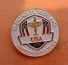 Ryder Cup Souvenier Team Pin..2014, Gleneagles