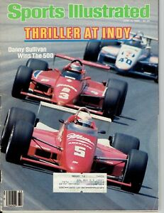 THRILLER AT INDY SPORTS ILLUSTRATED JUNE 3, 1985
