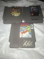 Cobra Triangle EXCITEBIKE Arch Rivals Basketbrawl Nintendo NES Cartridges Lot