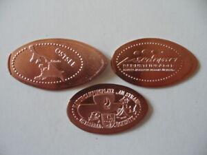 Elongated Coin Ückeritz Komplettsatz