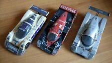 Lot 3 VOITURES 24H DU MANS 1/43 Sport Jaguar Mercedes Porsche