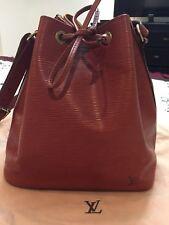 LOUIS VUITTON Petite Noe Shoulder Bag Epi Leather Kenyan Fawn