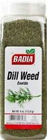 3 PACK Badia Dill Weed Chopped Herbs Dried Eneldo Picado 4 oz