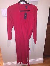 NWT - Tommy Hilfiger Red Jersey Wrap Dress XXL