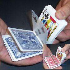 Cheek To Cheek Magic Card Trick Bicycle Deck - Blue or Red Back