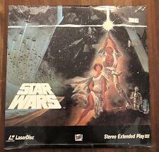 Star Wars ORIGINAL Version Laserdisc BRAND NEW SEALED first release
