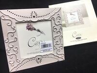 "Burnes of Boston - Carr Frames - Giverny Metals - Rose Picture Frame 4"" X 4"""