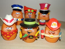 6 - Vintage McDonald's McNugget Buddies Happy Meal Toys