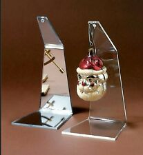 """~1 Ornament Display Stand Holder 5-1/2"""" Flat Hanger for Christmas Ornaments"""