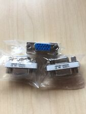 JOBLOT 3x SVGA Cable Adapter Gender Changer, DB15 Way Plug Female F/F pn-5242319
