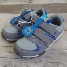 Surprize by Stride Rite Toddlers Boys Luke Sneakers Shoes Gray 4, 5,7,9,10,11,12
