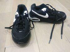 Nike Air Max Kids Size 10 Black & White Used VGC