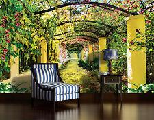 Salle à manger Murale Géante papier-peint photo 368x254cm été Vert Jardin