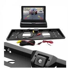 """Portatarga con telecamera Retromarcia e Monitor 4.3""""Auto Retrocamera 170 Nottura"""