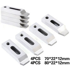4pc Wire Edm Fixture Board Stainless For Clamping Leveling Cnc Set M8x125 Screw