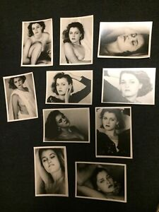 x10 Found Photo Lot Original One of a Kind Beautiful Artistic Nude/Portrait 5x7