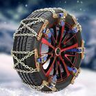 Cadenas de nieve Universal para coche antideslizante de acero inoxidable LLantas