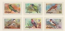 (ZJ-54) 1976 Antigua 18stamps 3sets birds, flowers & scenic views MUH