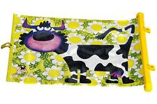 Sumex Car Window Roll Up Lateral Sunshade Sun Visor Blind Shade Block COW ANIMAL