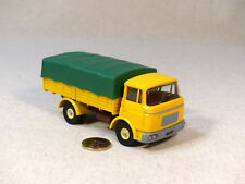 Atlas copie Dinky Toys 584 Camion Berliet GAK Jaune / Bâche Verte