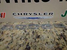 Caravan Nitro Dakota Dodge Chrome Emblem Decal Nameplate Badge Mopar Oem New