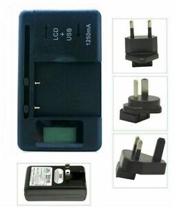 Battery Charger for Motorola BT50 BQ50 BT51 BT60 BT61 BT70 BT90 BT91 ac main