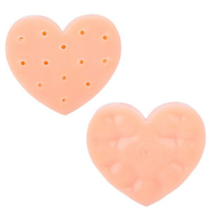 Stress Relief Toys Heart-Shaped Pimple Picking Toys Stop Picking Your Fac