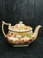 Rate Antique Chinoiserie Teapot,Oriental Design approx 6""
