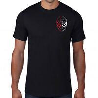 Spiderman Face Off Logo T-Shirt,Avengers Superhero Marvel Comics Adult &Kids Top