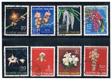 THAILAND 1967 Orchid Flowers (Flora) FU