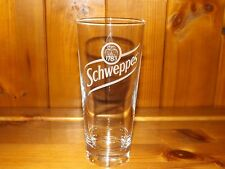 12 GENUINE TALL SCHWEPPES GLASSES - NEW DESIGN - Free Shipping UK
