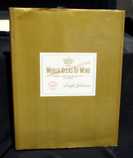 THE WORLD ATLAS OF WINE Johnson HB w/ DJ REVISED 16th Edition REFERENCE BOOK