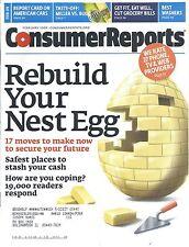 Consumer Reports Magazine February 2009 American Cars Washers Miller Vs Bud