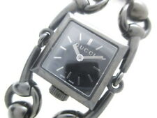 Auth GUCCI Signoria 116.5 Black Women's Wrist Watch 11737663