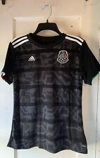 Adidas Mexico National Team Women's Black Jersey Medium Aztecs
