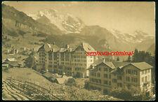 AK 1912 - WENGEN - Hotel National - frankiert - gelaufen