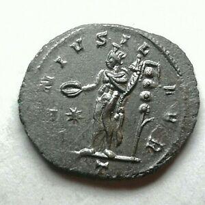 RARE FULL SILVERED AURELIAN ANTONINIANUS AD 273 Ancient Authentic Roman coin