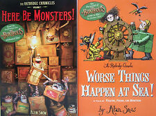 BOXTROLLS Here Be Monsters & Worse Things Happen at Sea by Alan Snow 2 Paperback