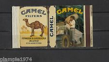 Original Vintage Complete Matchbox Label Camel Trophy 4