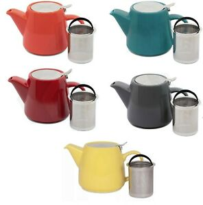650ml Whittard of Chelsea Pao Tea Pot With Infuser (7 Colours To Choose From)