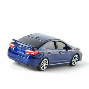 TOMICA 1/64  Blue Alloy SUBARU Impreza Car Model Diecast WRX-5TI Toys