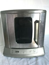 Cuisinart Cvr-1000 Vertical Rotisserie Oven Stainless Steel Missing Pieces Read