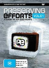 PRESERVING EFFORTS VOL 1 – DVD, CLASSIC HIP HOP, BLISS N ESO, KOOLISM, URTHBOY