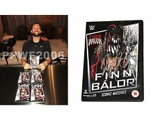 Wwe Finn Balor Hand Signed Autographed Iconic Matches Dvd With 00004000  Proof And Coa