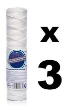 "3 x 5 micron string wound filter 10"",Bio-diesel,wvo vegetable oil filter!"