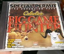 Special Permit Expansion Pack for Cabela's Big Game Hunter PC GAME - FREE POST