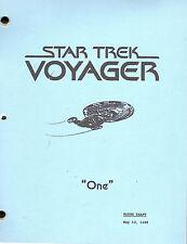 Star Trek Voyager script - One